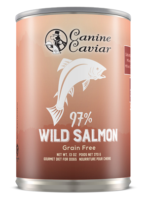 Canine Caviar 97% Salmon Grain Free Canned Dog Food - Canine Caviar Pet Foods Inc.